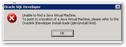 unable to launch the java machine