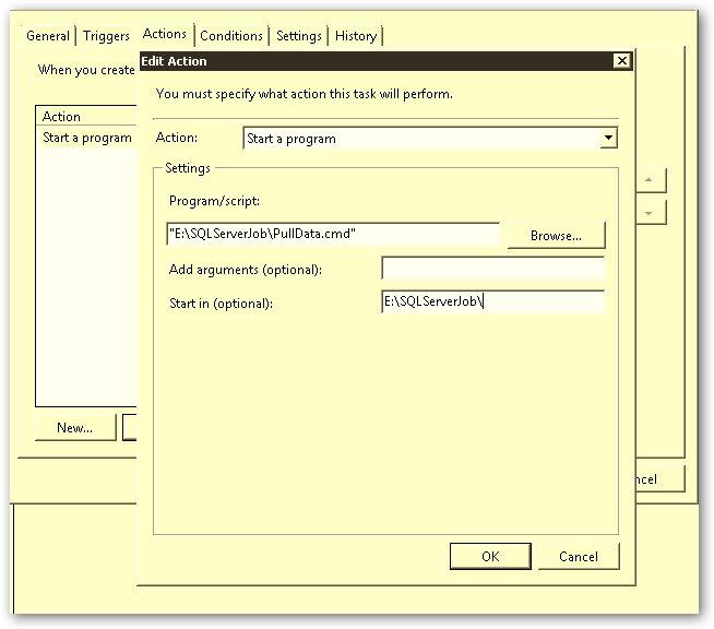 Error Log: Microsoft – Task Scheduler – Error – 12291