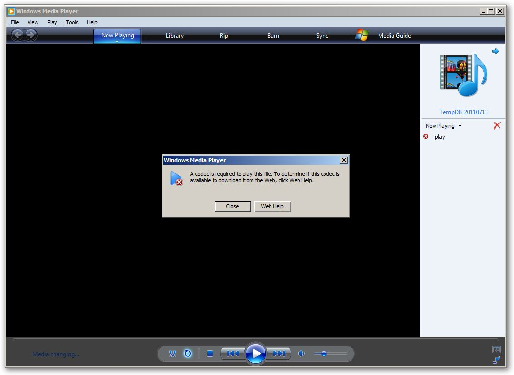 Codec Error Play In Windows Media Player For Realplayer
