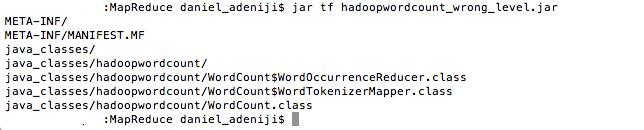 Java - Jar - Package Listing (Invalid upper level)