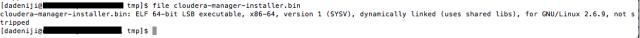 Cloudera - Installer - file