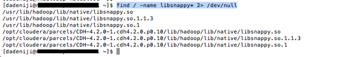 Hadoop - Hbase - Compression - Libraries - Snappy