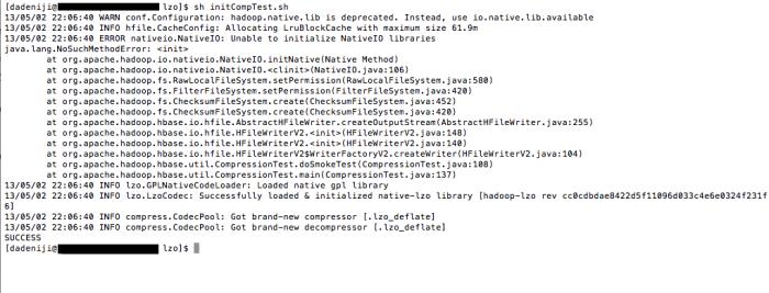 hadoop-native-lib is deprecated