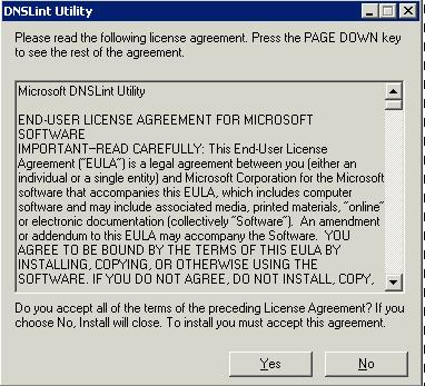 DNSLint - Extract
