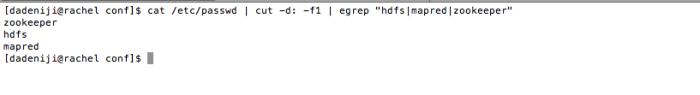 hadoop-conf-pseudo - match users