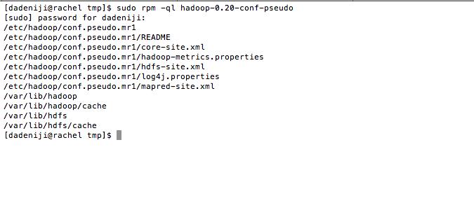 hadoop-conf-pseudo --ql