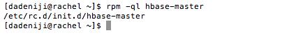 Hadoop - Hbase - Master - File List