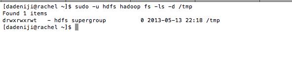 Hadoop -- HDFS -- tmp