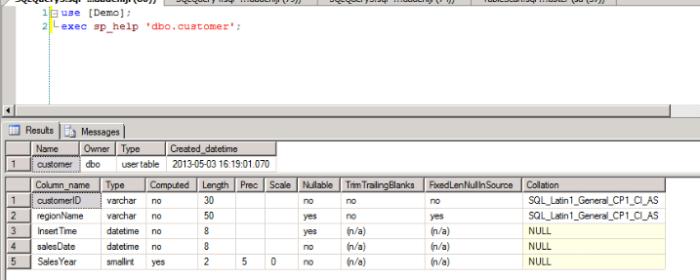 Hadoop - Sqoop - MS SQL Server - dbo.customer