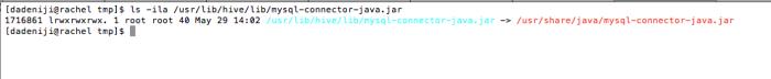 Linux - SymLinks - Hive - Lib file