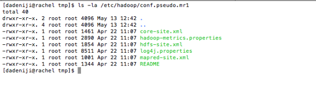 List Folder -- etc-hadoop-conf.pseudo.mr1