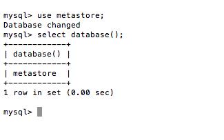 MySQL - Change Database
