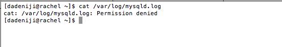 Mysql - Log File - var-log-mysql (permission denied)