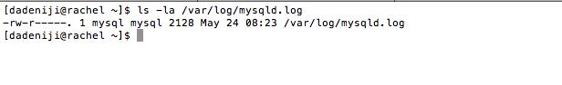 Mysql - Log File - var-log-mysql