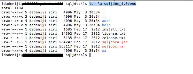 sqljdbc files
