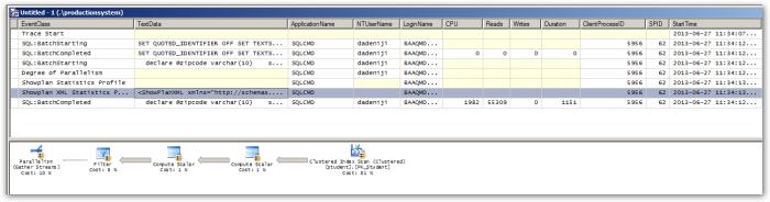 SQLServerProfiler-EmbeddedSQL
