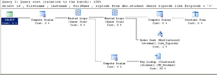 zipcode like variable (Stored Procedure)