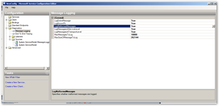 MicrosoftServiceConfigurationEditor-Diagnostics-MessageLogging