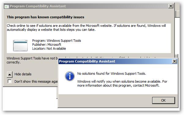 ProgramCompatibilityAssistant