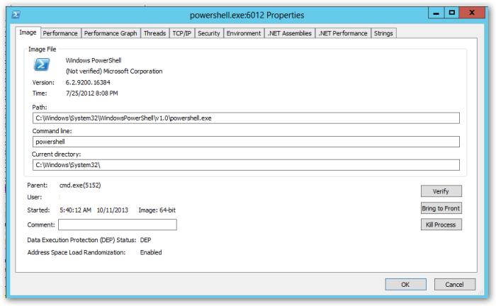 SysInternals-PowerShell-Windows2012-Image