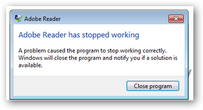 AdobeReaderHasStoppedWorking