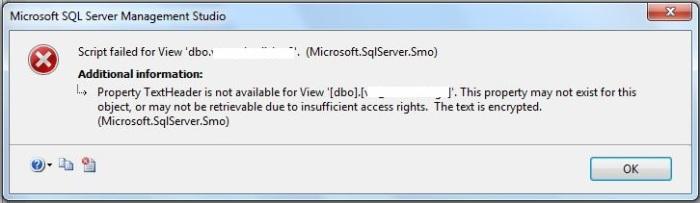 Error-Scriptfailed