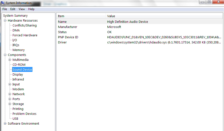 "Windows – 7 – Error Message – ""No speakers or headphones are"