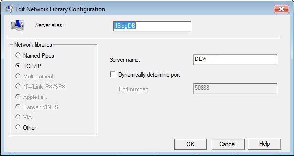 SQLServerClientNativeNetworkUtility-IISLogDB