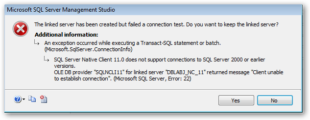 SQLServerNativeClient-v11-error