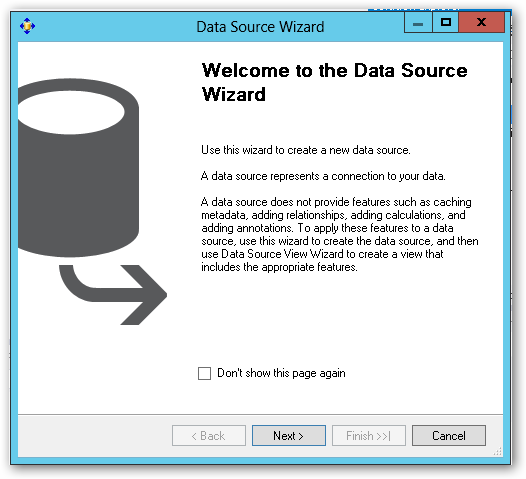 WelcomeToTheDataSourceWizard