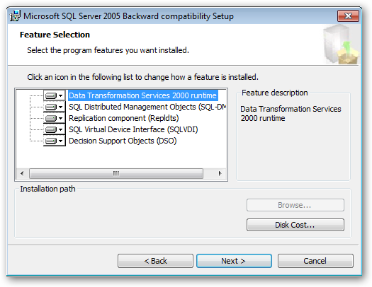 MicrosoftSQLServerv2005BackwardCompatibility_InstallationPath