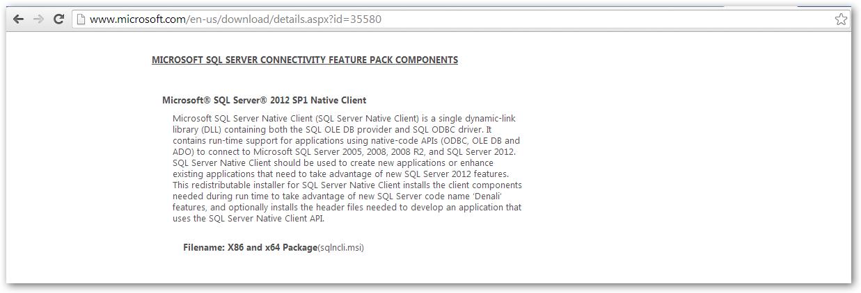 sql server 2008 r2 native client free download