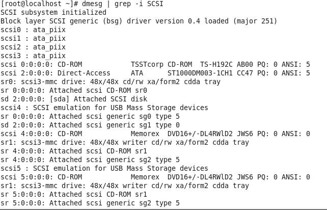dmesg--grep--SCSI