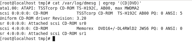 var-log-dmesg --egrep cd-dvd