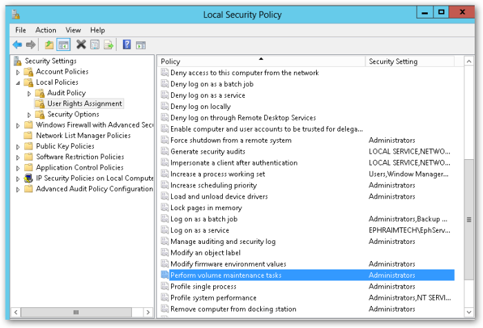 LocalSecurityPolicy