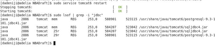 tomcat-restart--postgresql