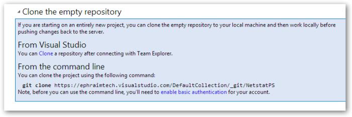 cloneTheEmptyRepository