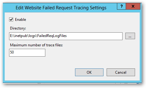 EditWebSiteFailedRequstTracingSettings
