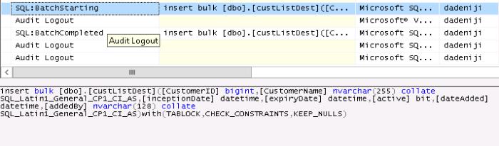 SQLServerProfiler-InsertBulk