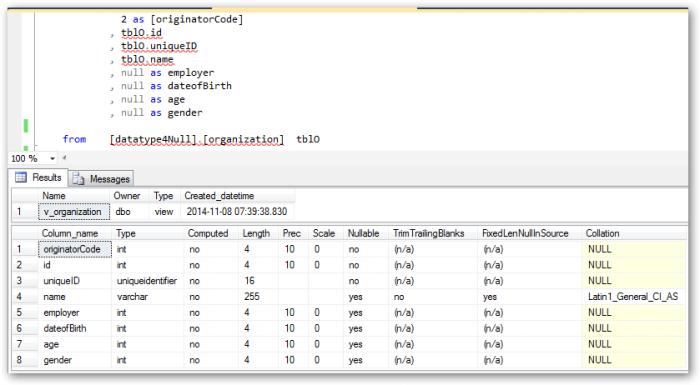 datatypeforNullValue