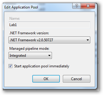 ApplicationPool - MangedPipelineMode - Integrated