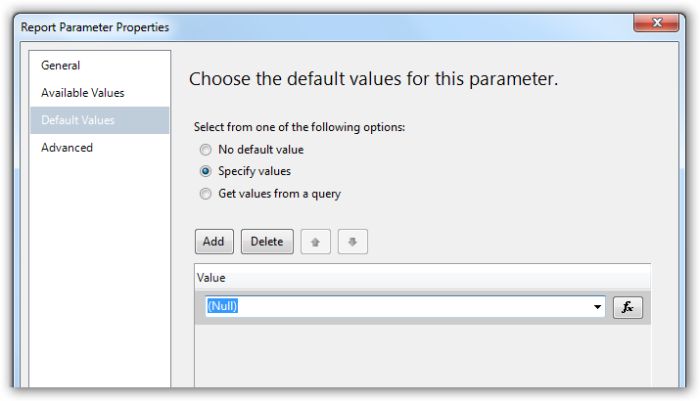 ReportParameter-DefaultValues-SpecifyValues-Value-(Null)