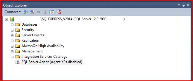 SQLServerAgent-AgentXPsDisabled