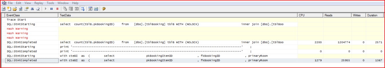 SQLServerProfiler