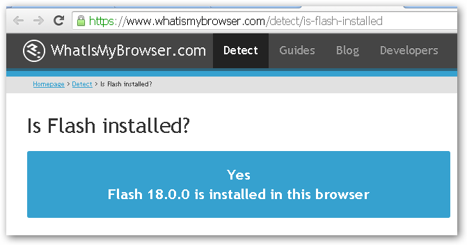 FlashInstalled