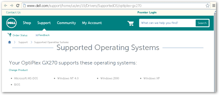 SupportedOperatingSystem