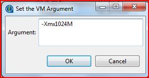 Xmx1024M