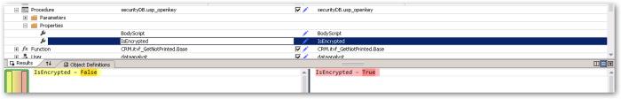 IsEncrypted