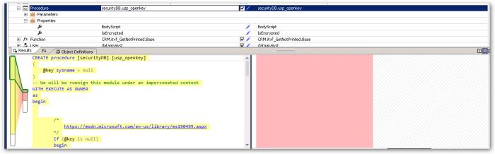 securityDB.usp_openkey