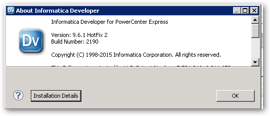 InformationDeveloperForPowerCenterExpress